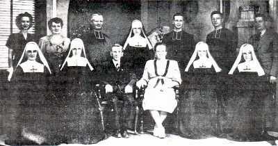 Famille de Henri Trépanier et Eugénie Roberge de St-Stanislas de Champlain (1947)